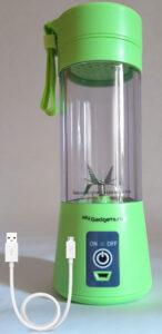 blender portabil pentru smoothie - culoare verde